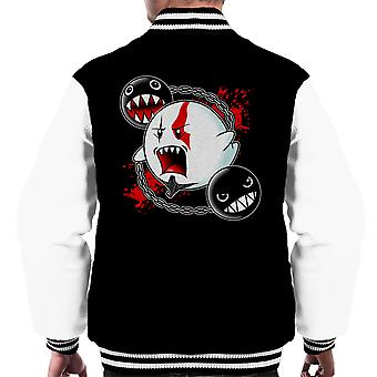 Ghost Of Sparta God Of War Mario Men's Varsity Jacket