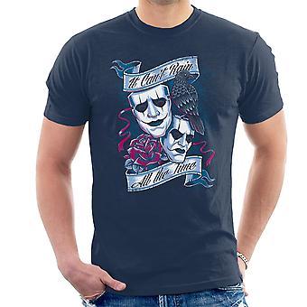 Se erikoiskieli Varis sataa aika Miesten t-paita