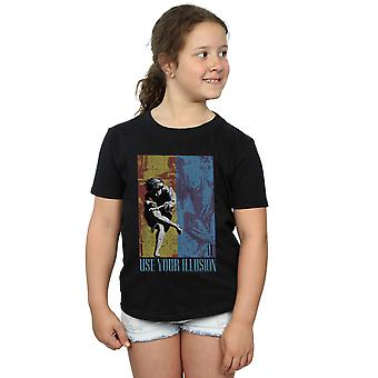 Guns N Roses Girls Double Illusion T-Shirt