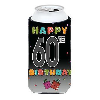 Glada 60 födelsedag lång pojke dryck isolator Hugger