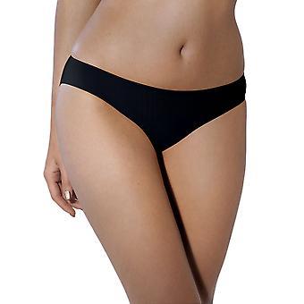 Anita Rosa Faia 1489-001 Women's Twin Black Microfiber Knickers Panty Full Brief