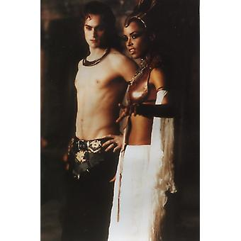 Queen of the Damned Screenshot - Stuart Townsend & Aaliyah (8 x 10)