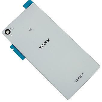 Pour la qualité de Sony Xperia Z5 Compact-dos-blanc-original