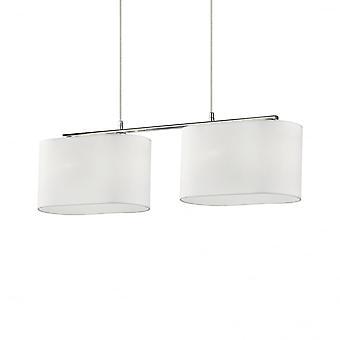 Ideal Lux Sheraton Twin Oval White Breakfast Bar Light