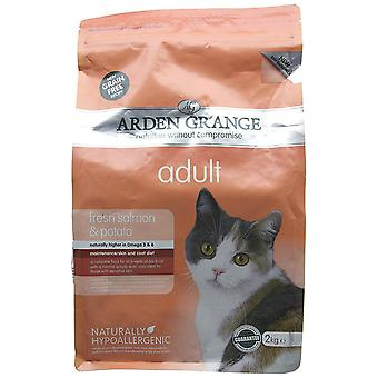 Arden Grange Dry Cat Food Adult Salmon 2 Kg