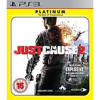 Just Cause 2 - Platinum (PS3) - Neu