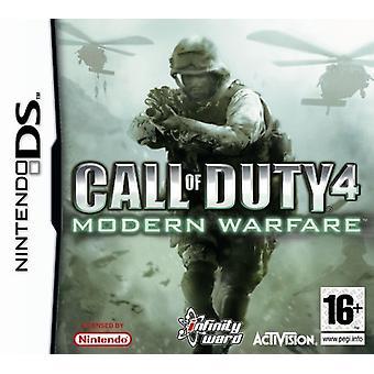 Call of Duty 4 Modern Warfare (Nintendo DS) - Som ny