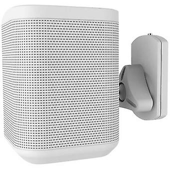 NewStar NM-WS130WHITE Speaker wall mount Swivelling/tiltable, Swivelling Distance to wall (max.): 10 cm White 1 pc(s)