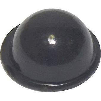 TOOLCRAFT PD2150SW foten selvklebende, sirkulære svart (Ø x H) 15.9 mm x 6,35 mm 1 eller flere PCer