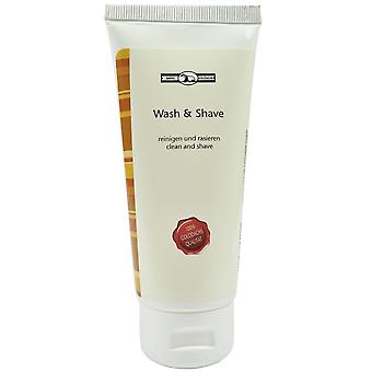 Gold roof wash & shave cream gel base price: 100 ml 30 Euro