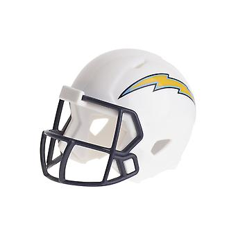 Riddell speed pocket football helmets of NFL Los Angeles Chargers