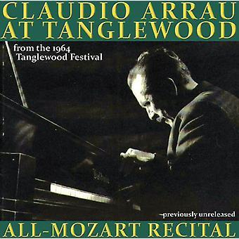 W.a. Mozart - Claudio Arrau at Tanglewood: All-Mozart Recital [CD] USA import