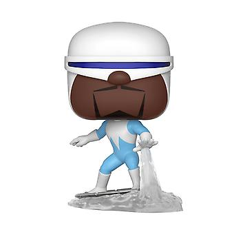 Disney The Incredibles 2 pop! Vinyl figure 368 Frozone made of plastic, Funko, in gift box.