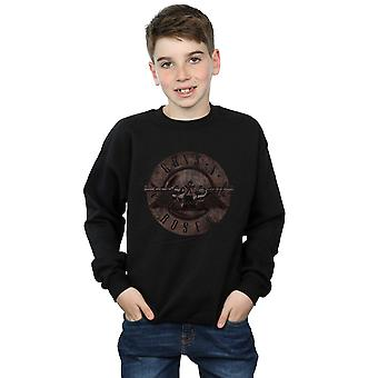 Guns N Roses jongens Sepia Bullet Logo Sweatshirt