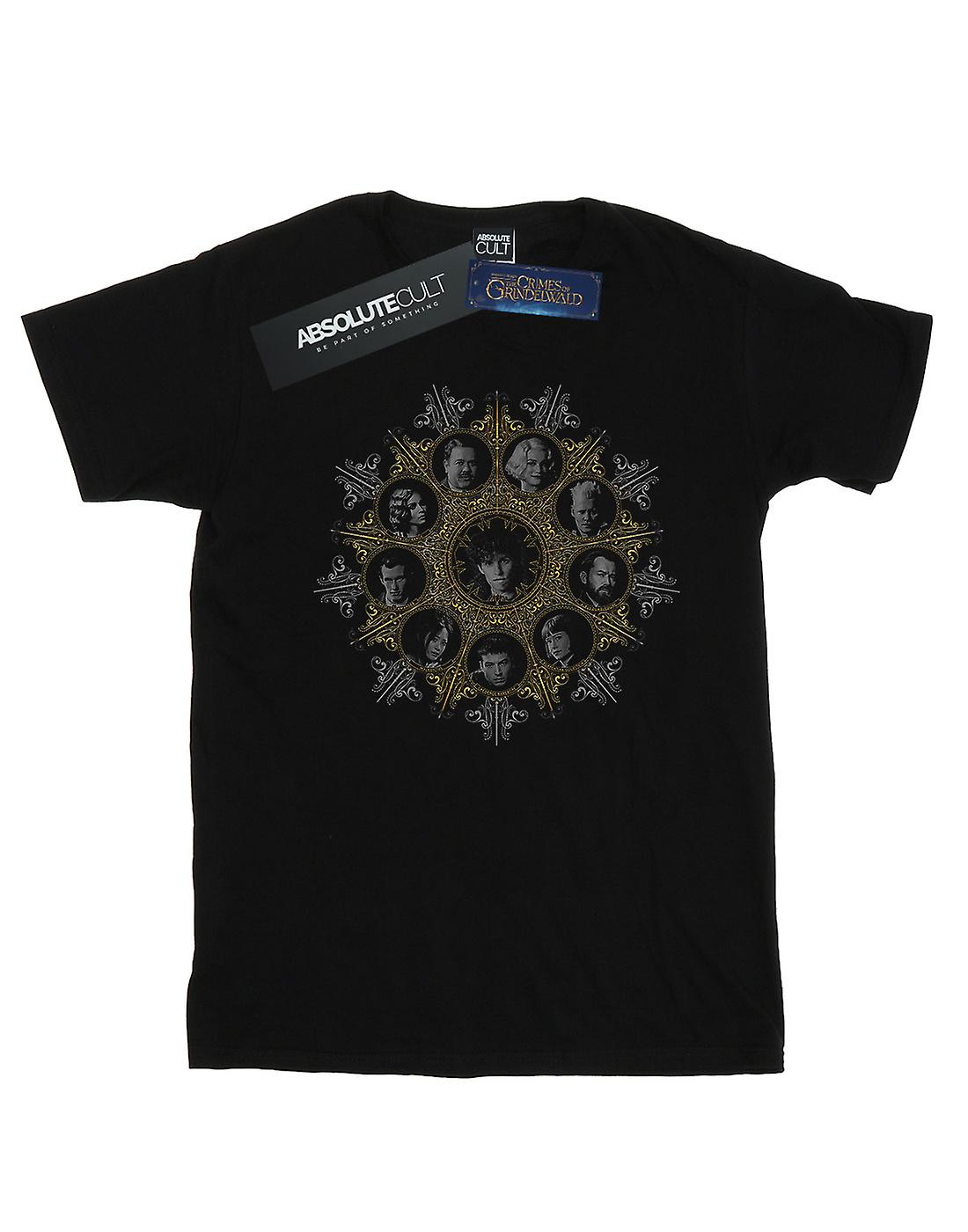 Fantastic Beasts Women's Character Crest Boyfriend Fit T-Shirt