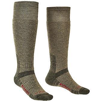Bridgedale Mens & Womens Explorer Merino wol knie sokken