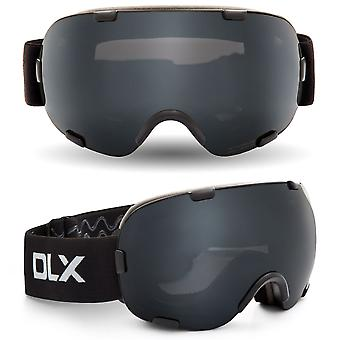 Trespass Mens & Womens/Ladies Bond DLX Mirrored UV Protection Goggles