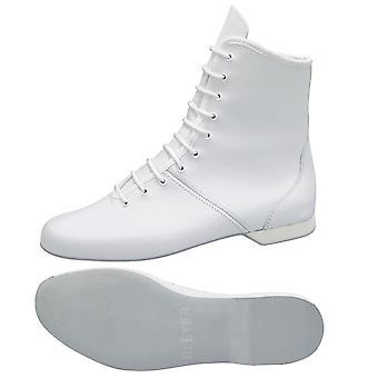 rivestito guardia bianca stivali / M1 stivali gioco della palla in pelle / tacco in gomma