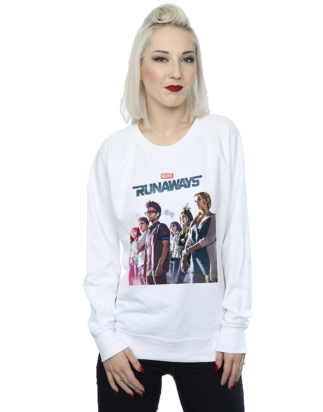 Marvel Women's Runaways Misty Poster Sweatshirt