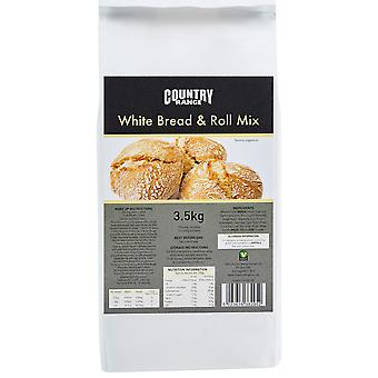 Country Range White Bread Roll Mix