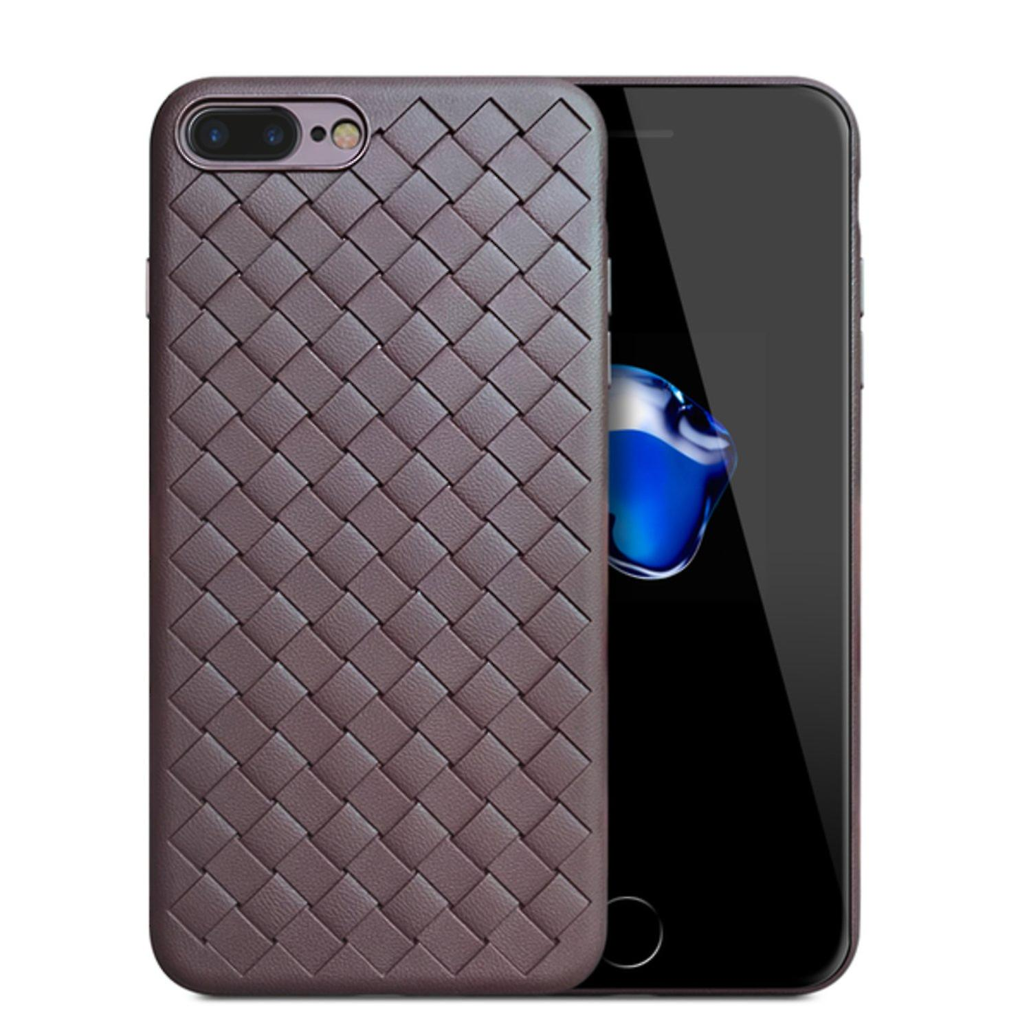 Woven design case for iPhone 8 Plus