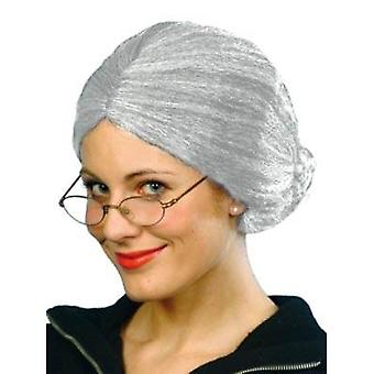 Charlie's Aunt. Granny Wig Grey.