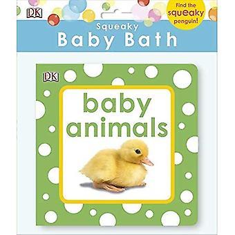 Pipig Baby bad boken Baby djur (Baby Touch och känsla)