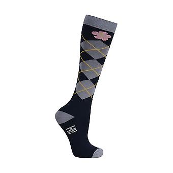 HyFASHION Adults Floral Delight Socks (Pack of 3 Pairs)