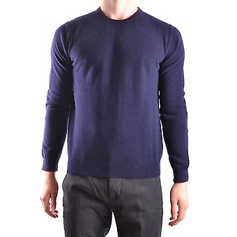 Altea Ezbc048045 Men's Blue Wool Sweater