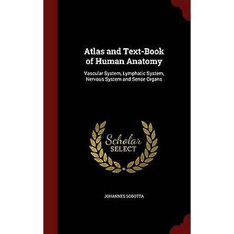 Atlas et manuel d'anatomie humaine système vasculaire lymphatique du système nerveux et organes des sens par Sobotta & Johannes