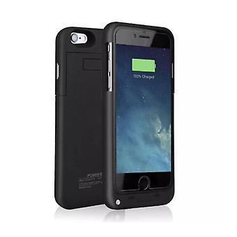 Stoff zertifiziert® iPhone 8 Plus 4000mAh Powercase Powerbank Ladegerät Batterie Abdeckung Fall Fall