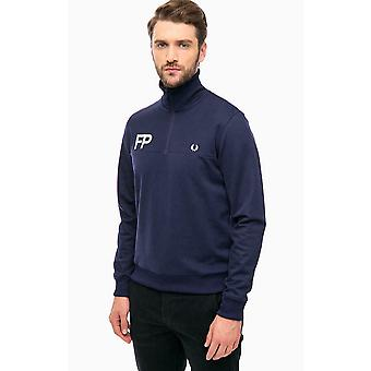 Fred Perry Half Zip Logo Men's Track Jacket J2599-266