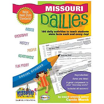 Missouri Dailies - 180 Daily Activities for Kids by Carole Marsh - 978