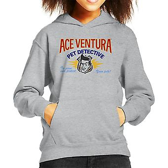 Ace Ventura Pet Detective Logo Kid's Hooded Sweatshirt