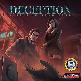 Deception Murder in Hong Kong Card Game - English/German