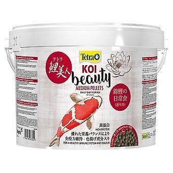 Tetra Pond Koi Beauty medium pellet 1kg/4Ltr