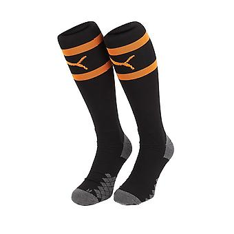 2019-2020 Valencia Away Puma Socks (Black) - Kids