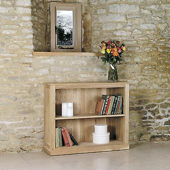 Mobel Oak Low Bookcase- Baumhaus