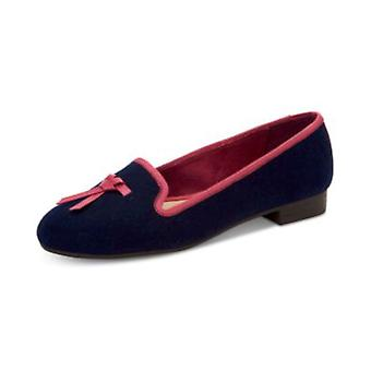Charter Club Womens Femmiie Fabric Round Toe Loafers