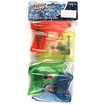 Vattenpistol 10 cm 4-pack