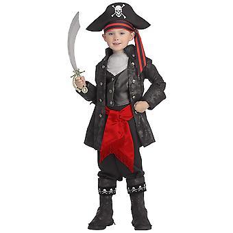 Черный пират капитан Крюк Карибский пиратский История Книга недели мальчиков костюм