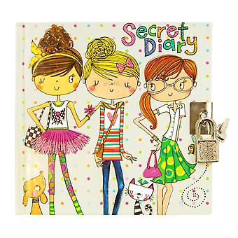 Girls lockable friends secret diary