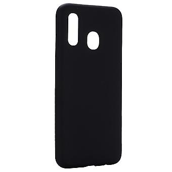 Soft TPU shell Samsung Galaxy A20e Noir