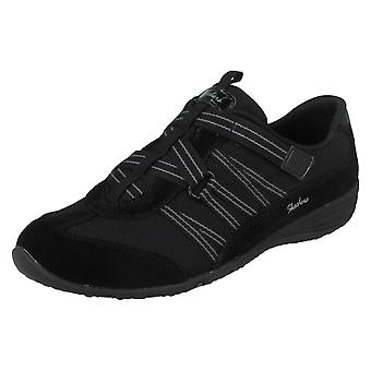 Ladies Skechers Trainers With Cross Strap Detail Existent 23074