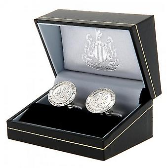 Newcastle United FC Sterling Silver Cufflinks