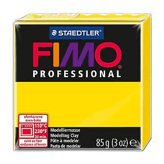 Fimo Professional Modelling Clay, Yellow, 85 g