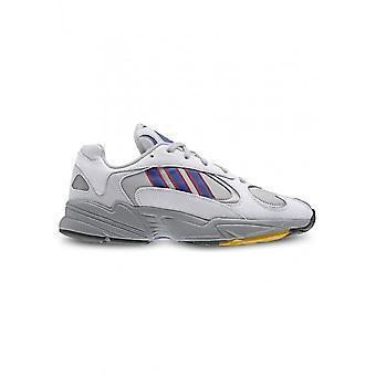 Adidas - Schuhe - Sneakers - CG7127_YUNG-1 - Unisex - lightgray,blue - UK 9.5