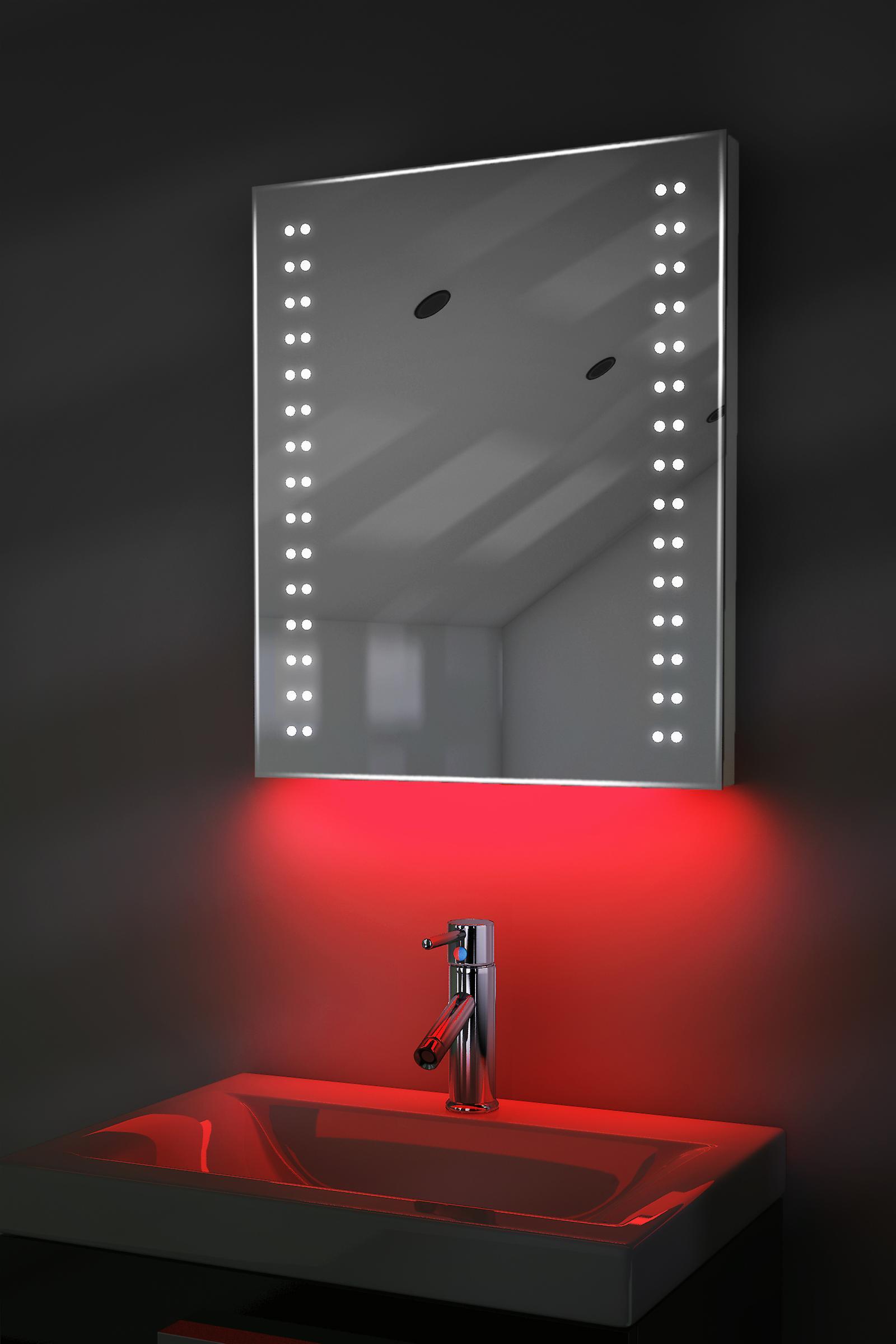 Auto couleur changement rasoir Rgb miroir avec désembuage & K38Srgb capteur