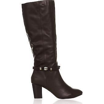 Karen Scott Womens Galee Almond Toe Knee High Fashion Boots