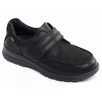 Padders Trek miesten nahka leveä (g/h) kengät musta